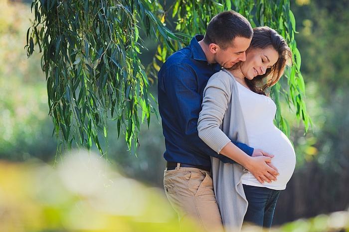 Ciążowa Sesja Plenerowa Jesienią Ania Mioduszewska Fotografia