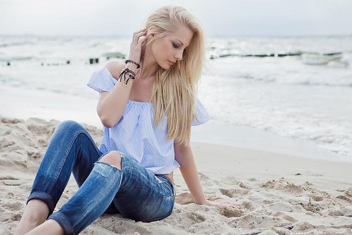 Topnotch Kobieca sesja zdjęciowa na plaży – Ania Mioduszewska Fotografia MD88